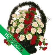 Ritual wreath with carnations