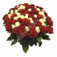 Large bouquet of roses