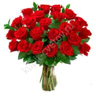 25 Red roses 50 cm