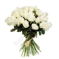 Bouquet of 51 white roses import