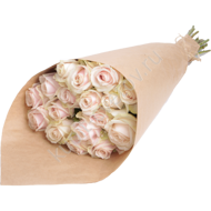 Tender bouquet in crafting