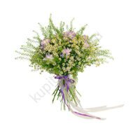 Bouquet of freesias and matrikary