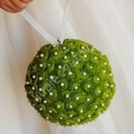 Green Wedding Balloon