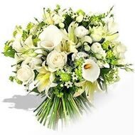 Bouquet with lilies and Calla