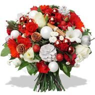 Bouquet Santa Claus