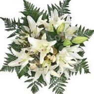Classic bouquet of lilies