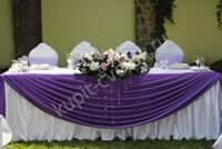 Lilac wedding composition