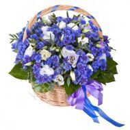 Basket of blue-bonnets