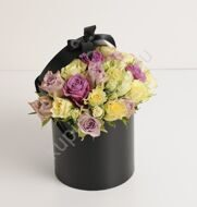 Bouquet in a black box