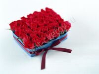 Mini Present of red roses