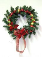 Wreath of Christmas balls