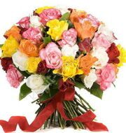 Bouquet of 51 Roses mix Kenya
