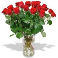 Bouquet of 19 roses import