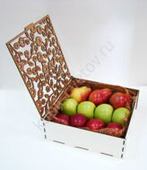 Box of apples and pears