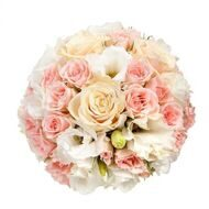 Tender bridal bouquet