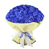 75 blue roses