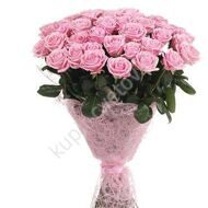 Bouquet of 35 pink roses