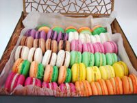 Large box of macarons mix