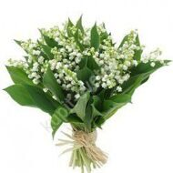 Bouquet of 49 lilies of the valley