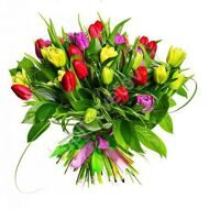 Bouquet of tulips mix