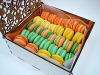 Box of tropical macarons M